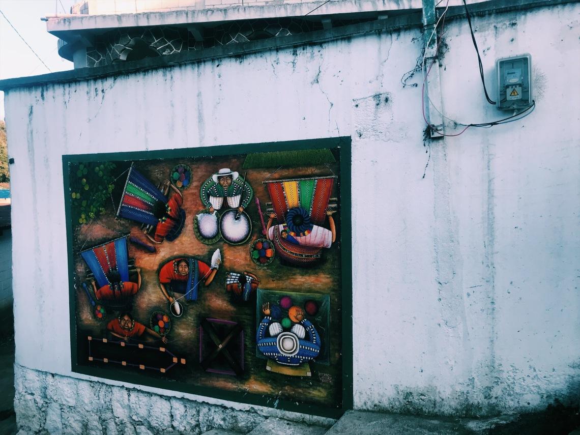 Street art in San Juan