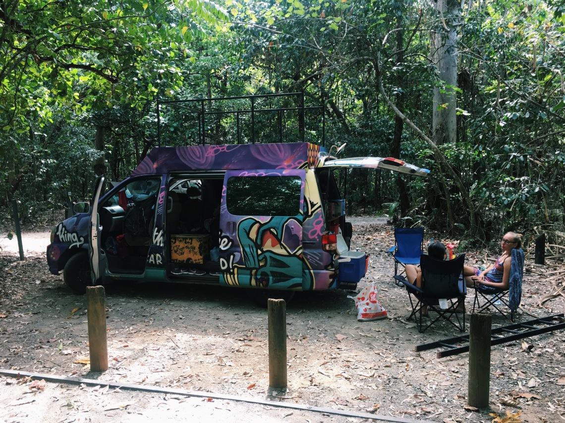 australia, review wicked camper van