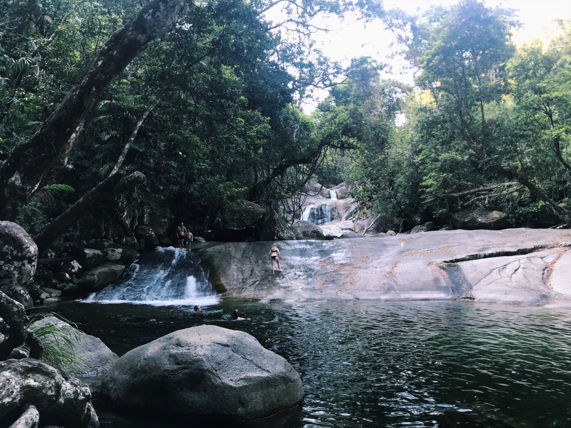 cairns wild swimming best places