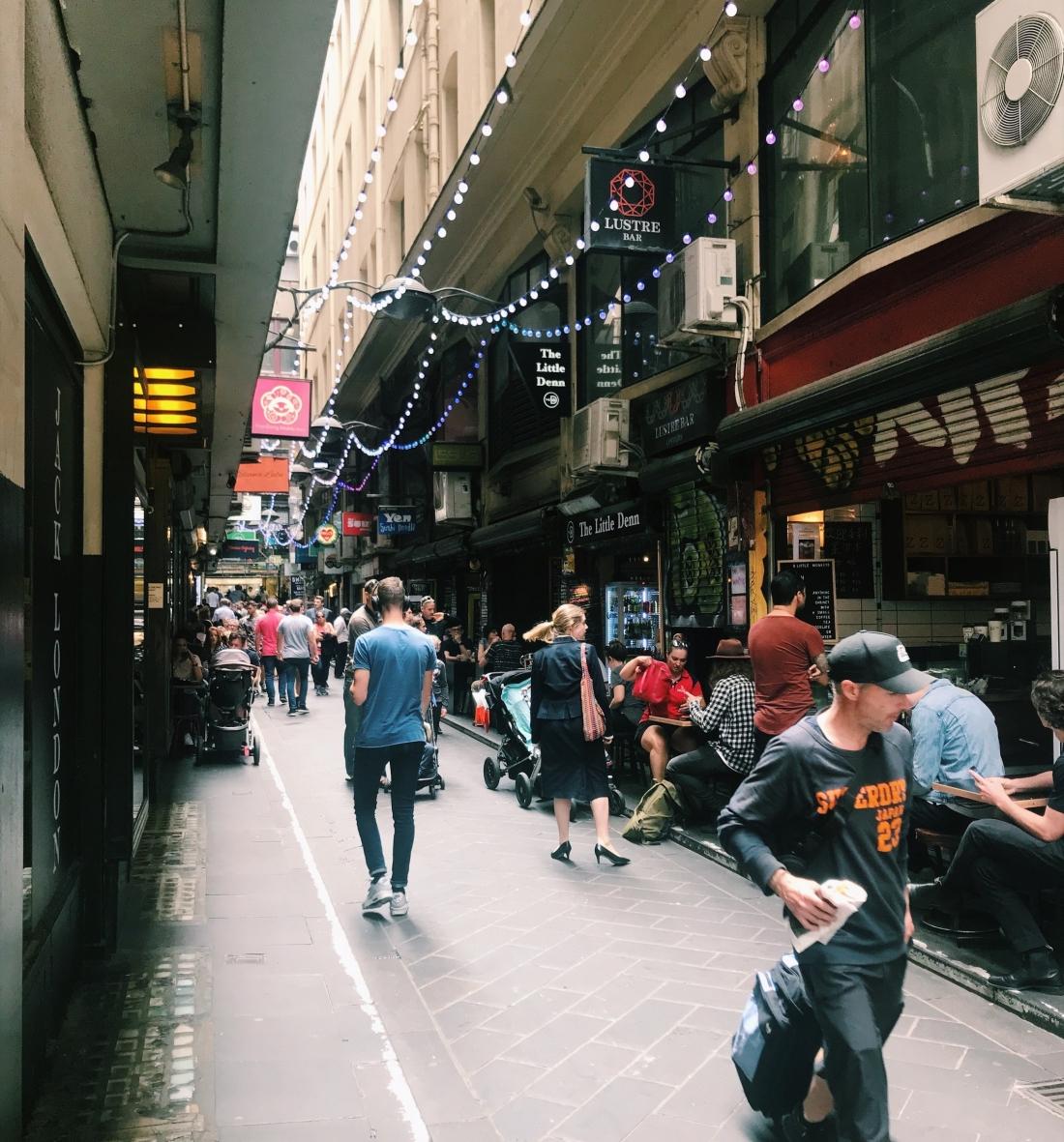 australia working holiday melbourne